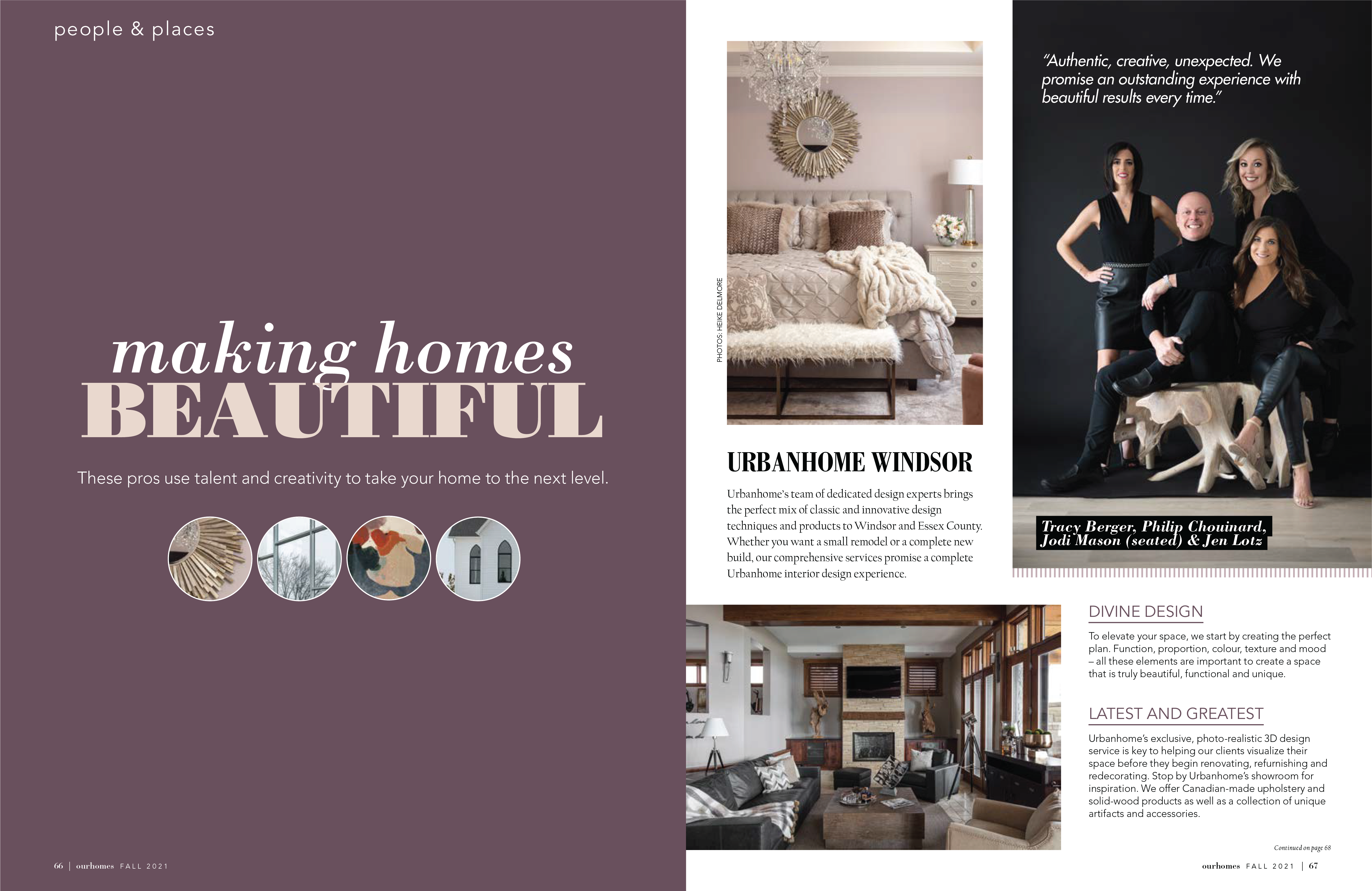 Ourhomes Magazine People and Places